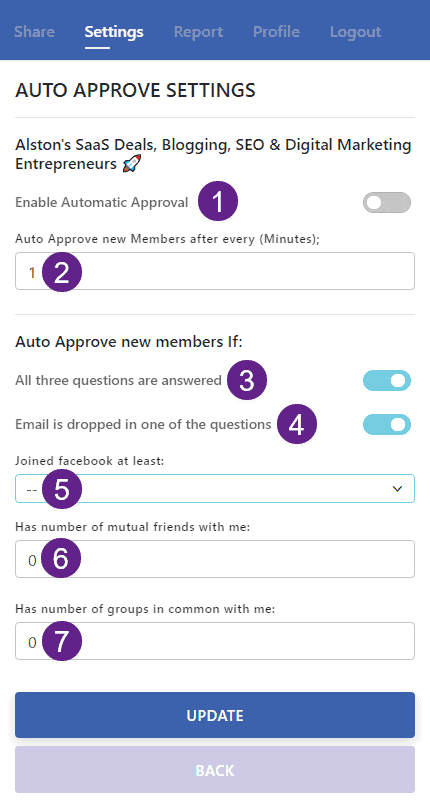 How to auto approve member requests using Group Leads