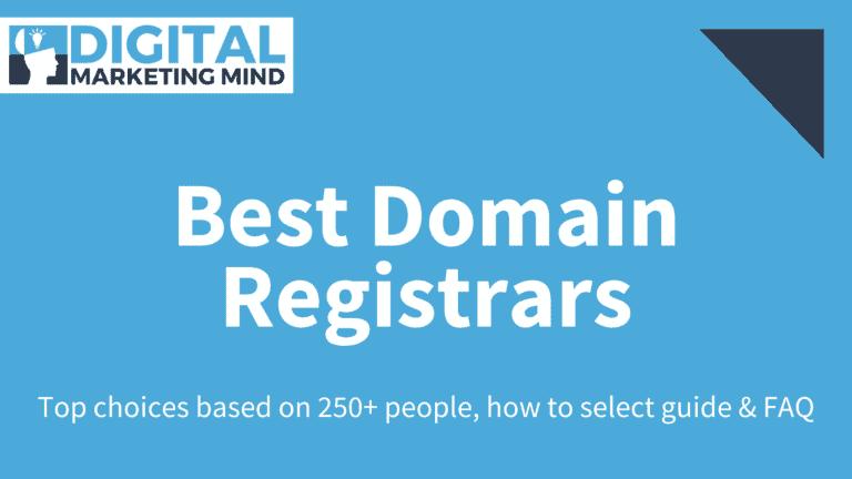 Best Cheapest Domain Registrars