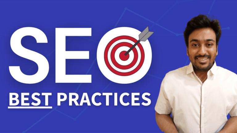 best practices in seo