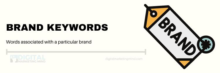 Brands for keywords