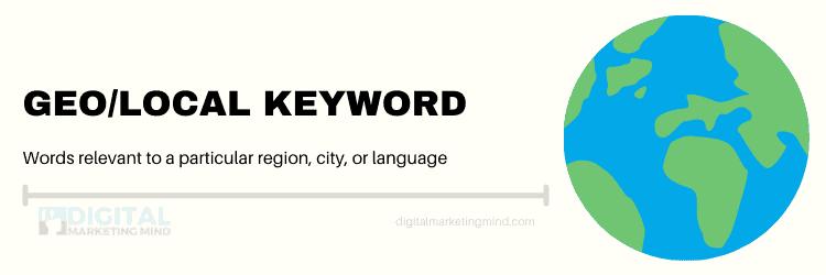 Local keywords
