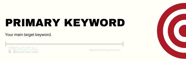 Primary keyword