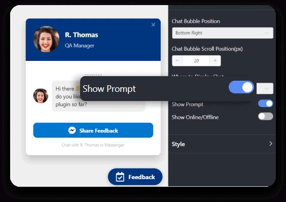 Social chat design