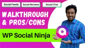 wp social ninja review
